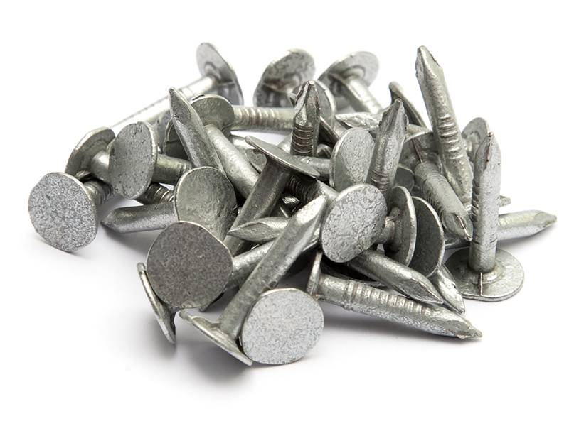 Large Head Clout Roofing Felt Nails