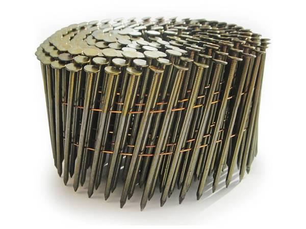 15 176 Coiled Nails For Pneumatic Nail Gun Operation